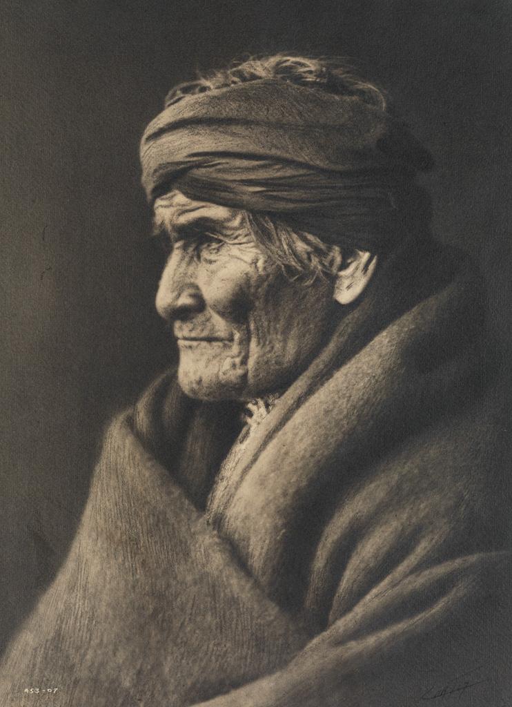 EDWARD S. CURTIS (1868-1952) Geronimo, Apache.