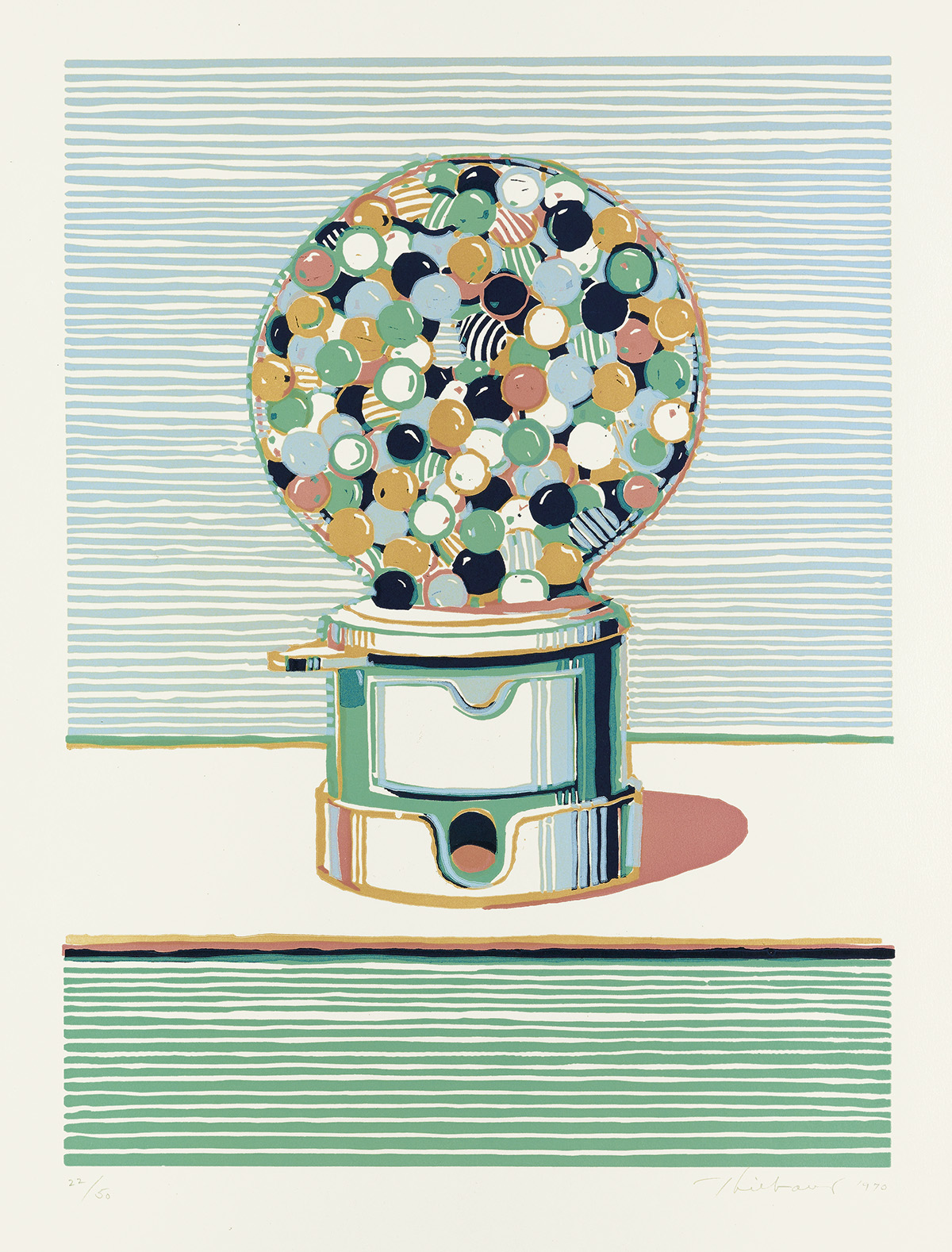 WAYNE-THIEBAUD-Gumball-Machine