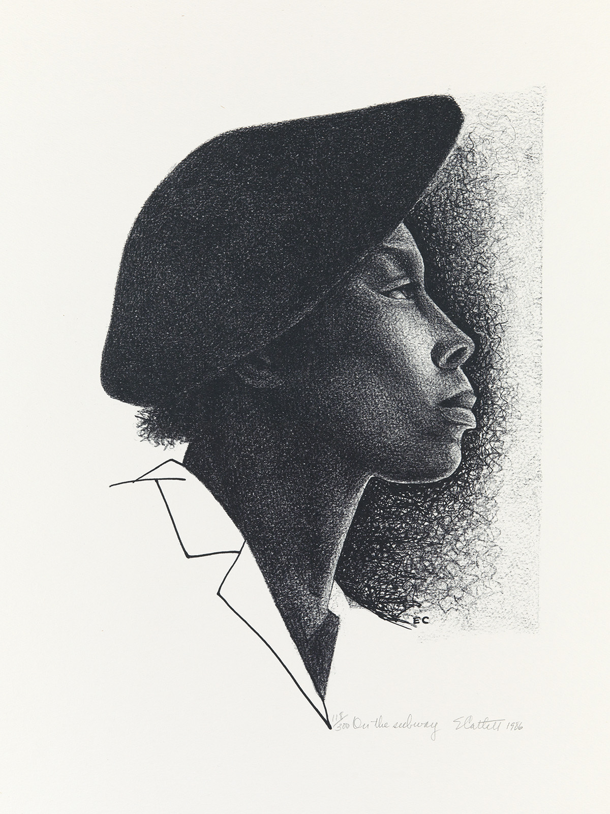 ELIZABETH-CATLETT-(1915---2012)-On-The-Subway