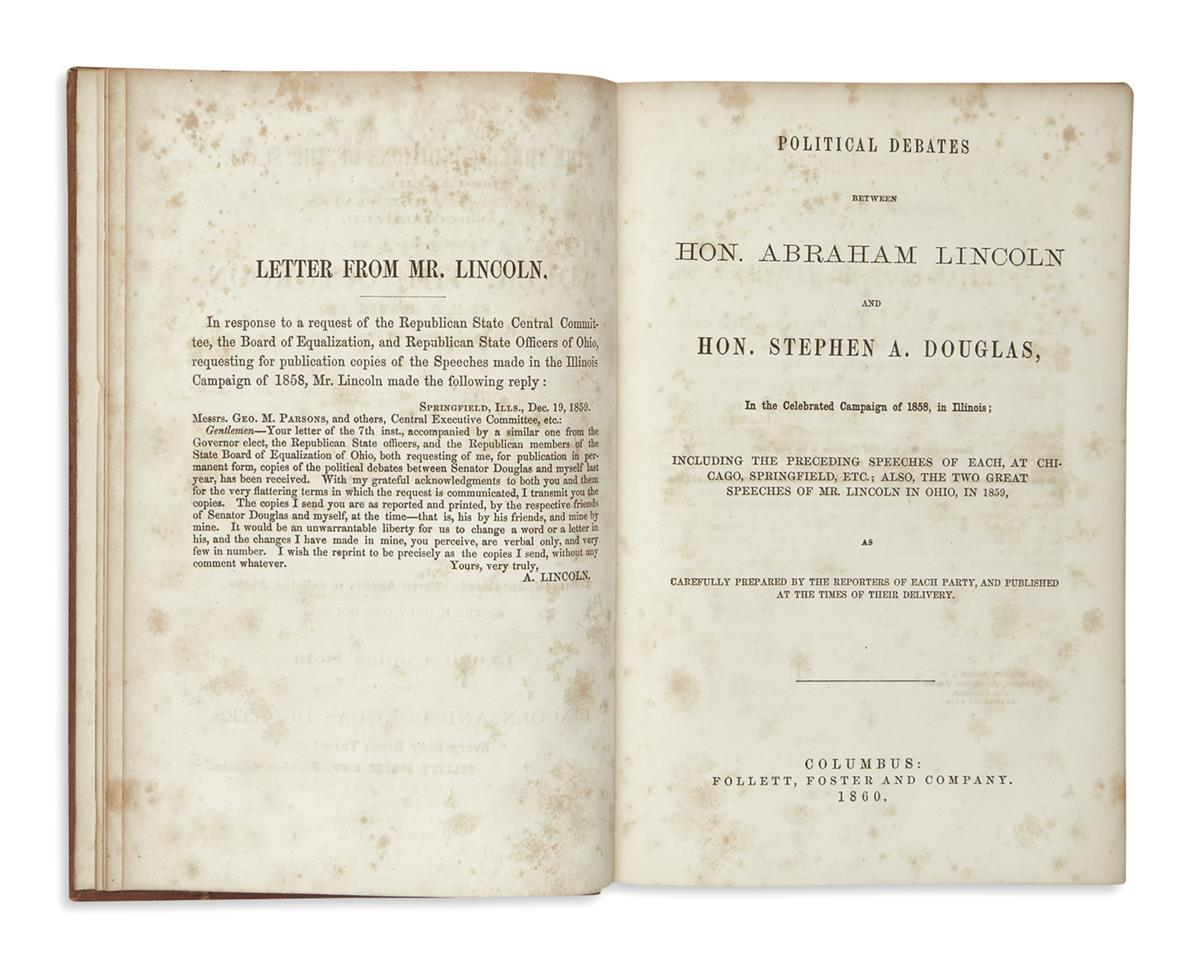 (BOOKS-AND-PAMPHLETS)-Political-Debates-between-Hon-Abraham-