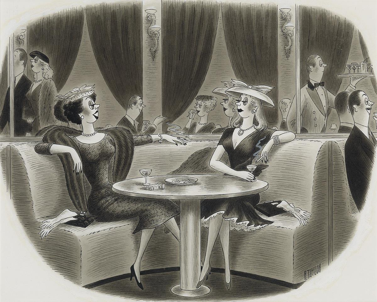 RICHARD-TAYLOR-(THE-NEW-YORKER--CARTOON)-This-season-I-think-Ill-just-tell-everyone-to-go-to-hell