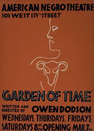 (THEATRE.) DODSON, OWEN. Garden of Time.