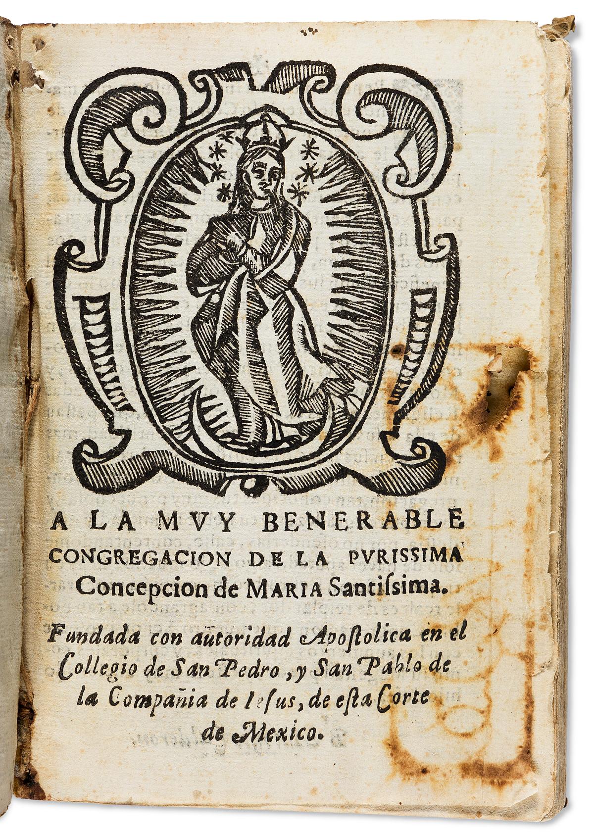 (MEXICAN IMPRINT--1653.) Gabino Carta. Guia de confessores, practica de administrar los sacramentos, en especial el de la penitencia.