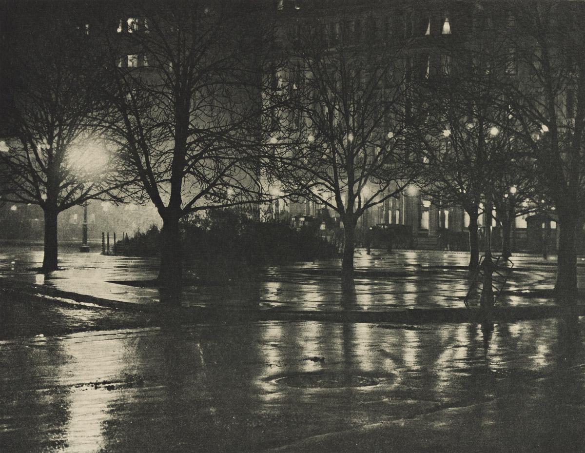 ALFRED STIEGLITZ (1864-1964) Reflections: Night - New York * The Glow of Night - New York.