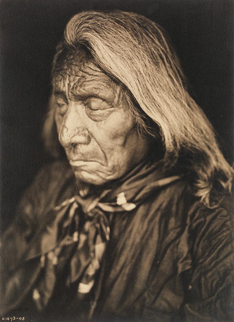 EDWARD S. CURTIS (1868-1952) Red Cloud, Oglala.