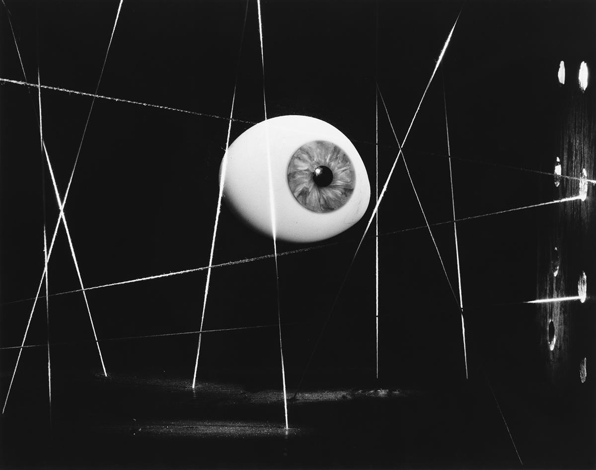 NATHAN LERNER (1913-1997) Eye and String.