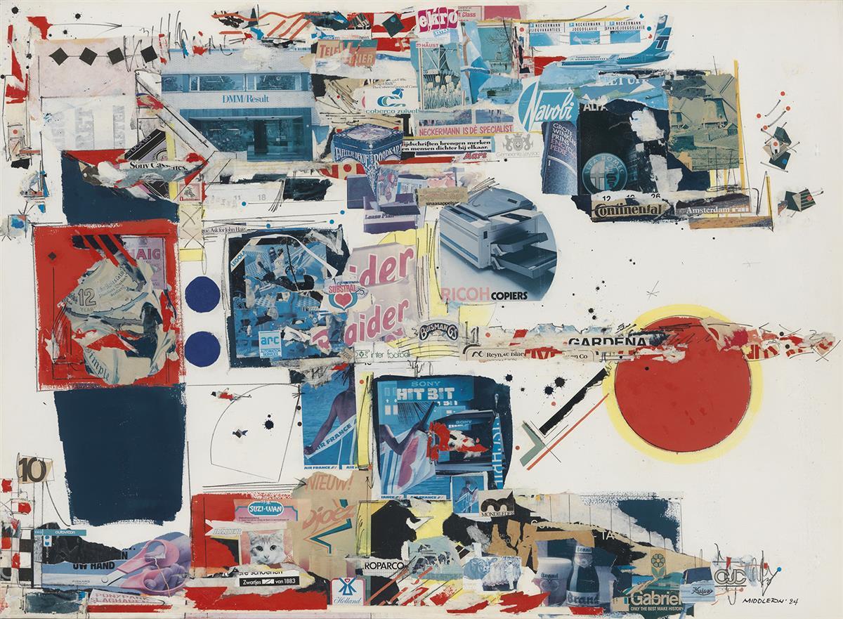SAM MIDDLETON (1927 - 2015) Modern Times.