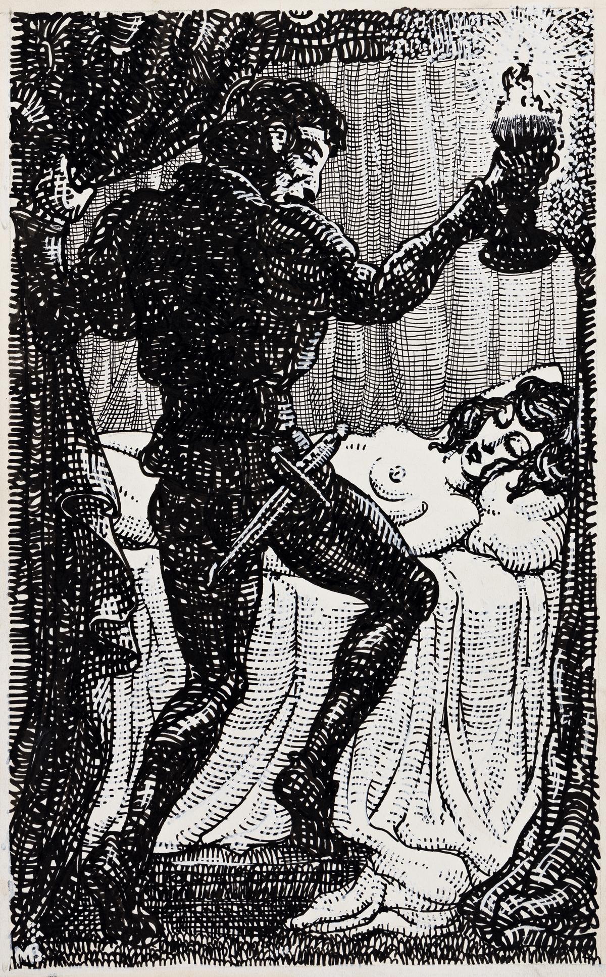 MAHLON BLAINE (1894-1969) The Decameron of Boccaccio.