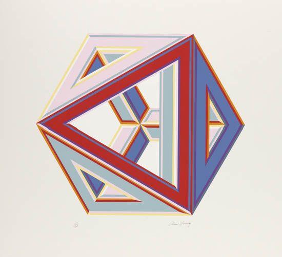 ALVIN D. LOVING, JR. (1935 - 2005) Untitled (Septahedron).