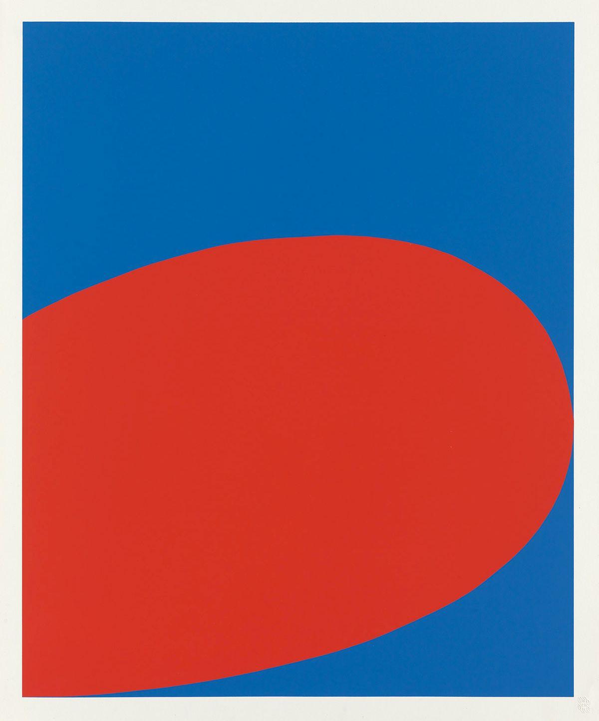 ELLSWORTH-KELLY-RedBlue-(Untitled)