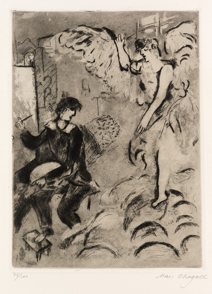 MARC-CHAGALL-The-Apparition-I