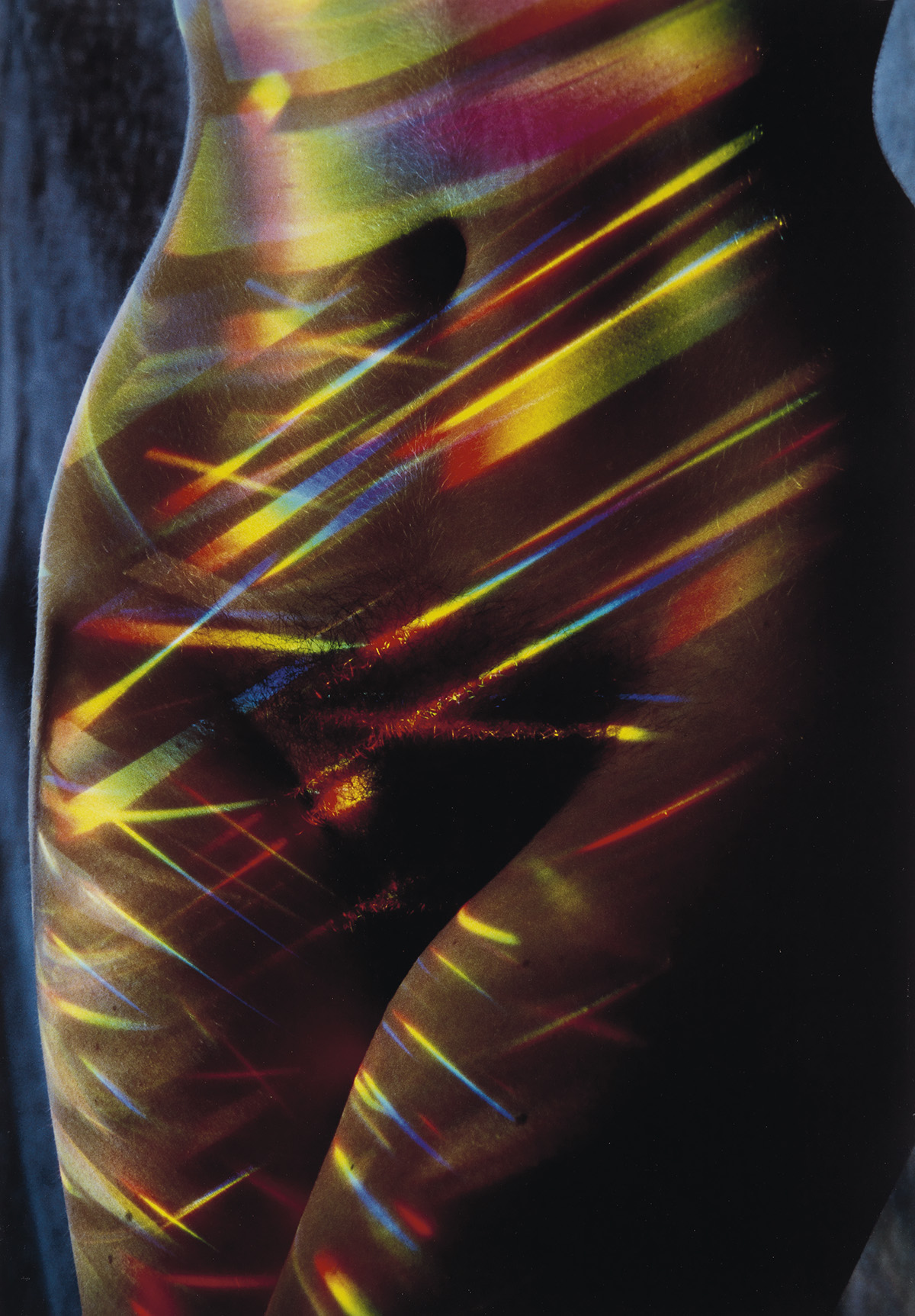 LUCIEN-CLERGUE-(1934-2014)-Nude-female-figure-overlaid-with-
