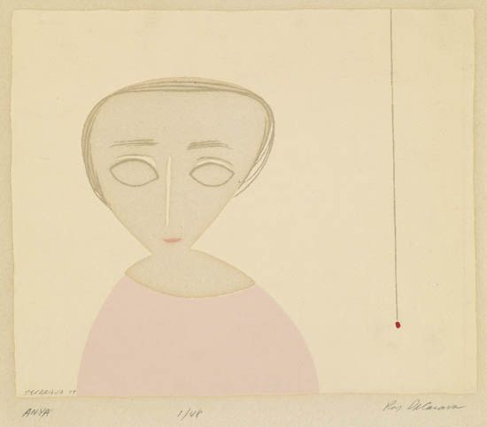 ROY DECARAVA (1919 - 2009) Anya.
