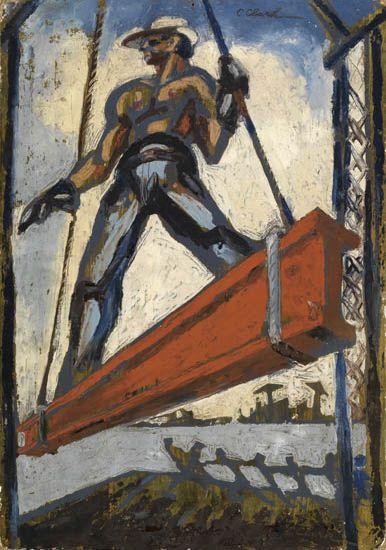 CLAUDE CLARK (1915 - 2001) Steel.
