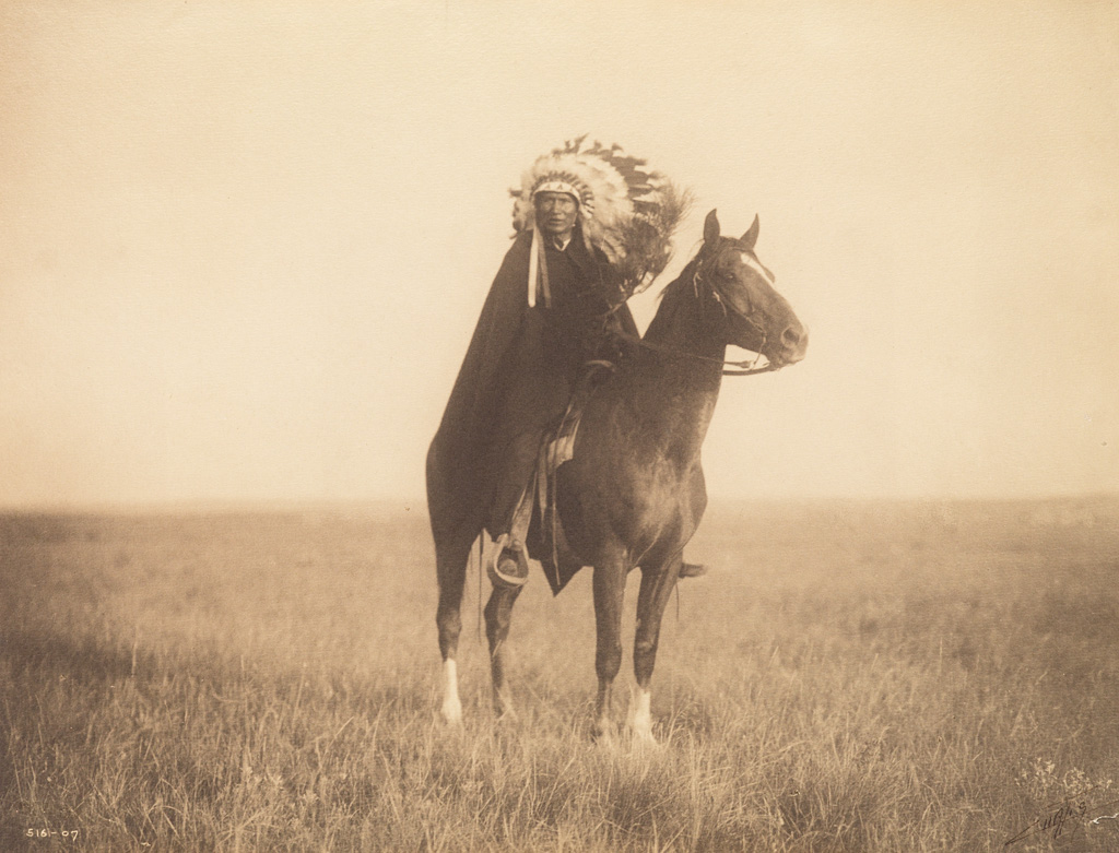 EDWARD S. CURTIS (1868-1952) Group of 4 portraits from The North American Indian.
