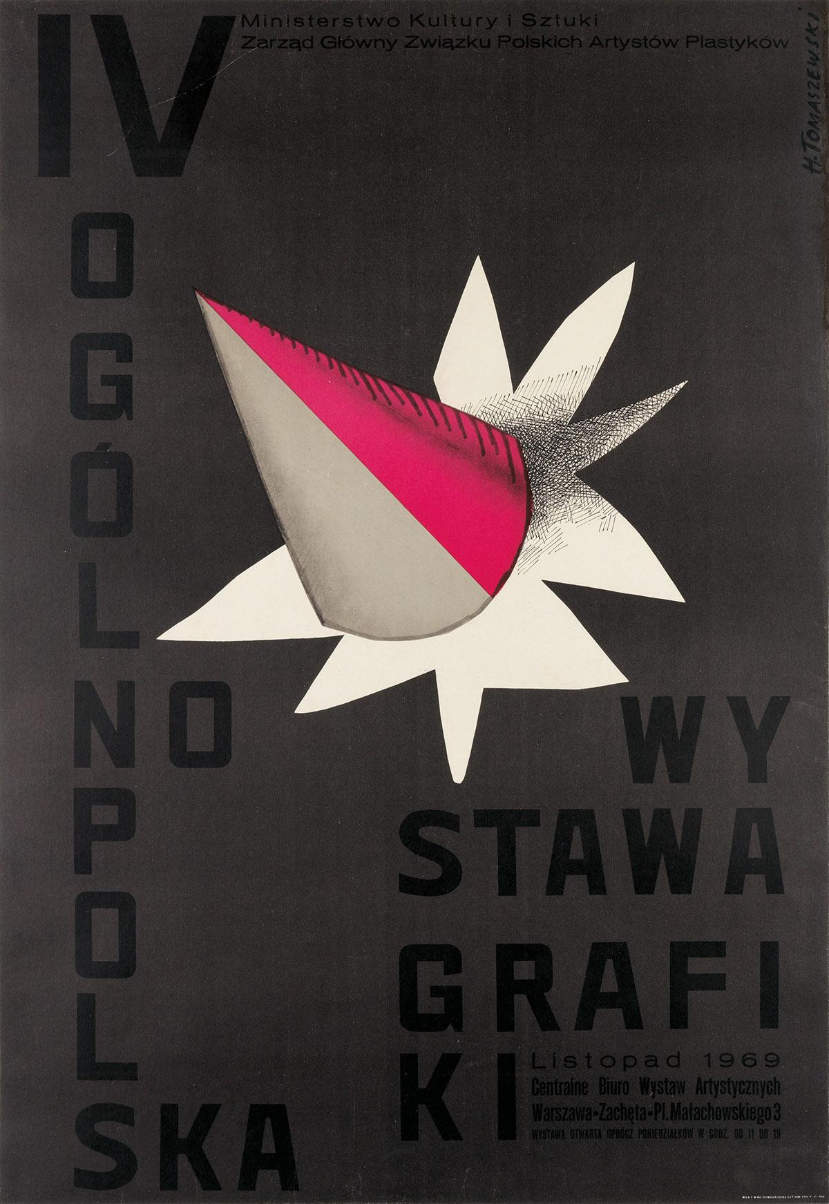 HENRYK-TOMASZEWSKI-(1914-2005)-IV-OGOLNOPOLSKA-WYSTAWA-GRAFI