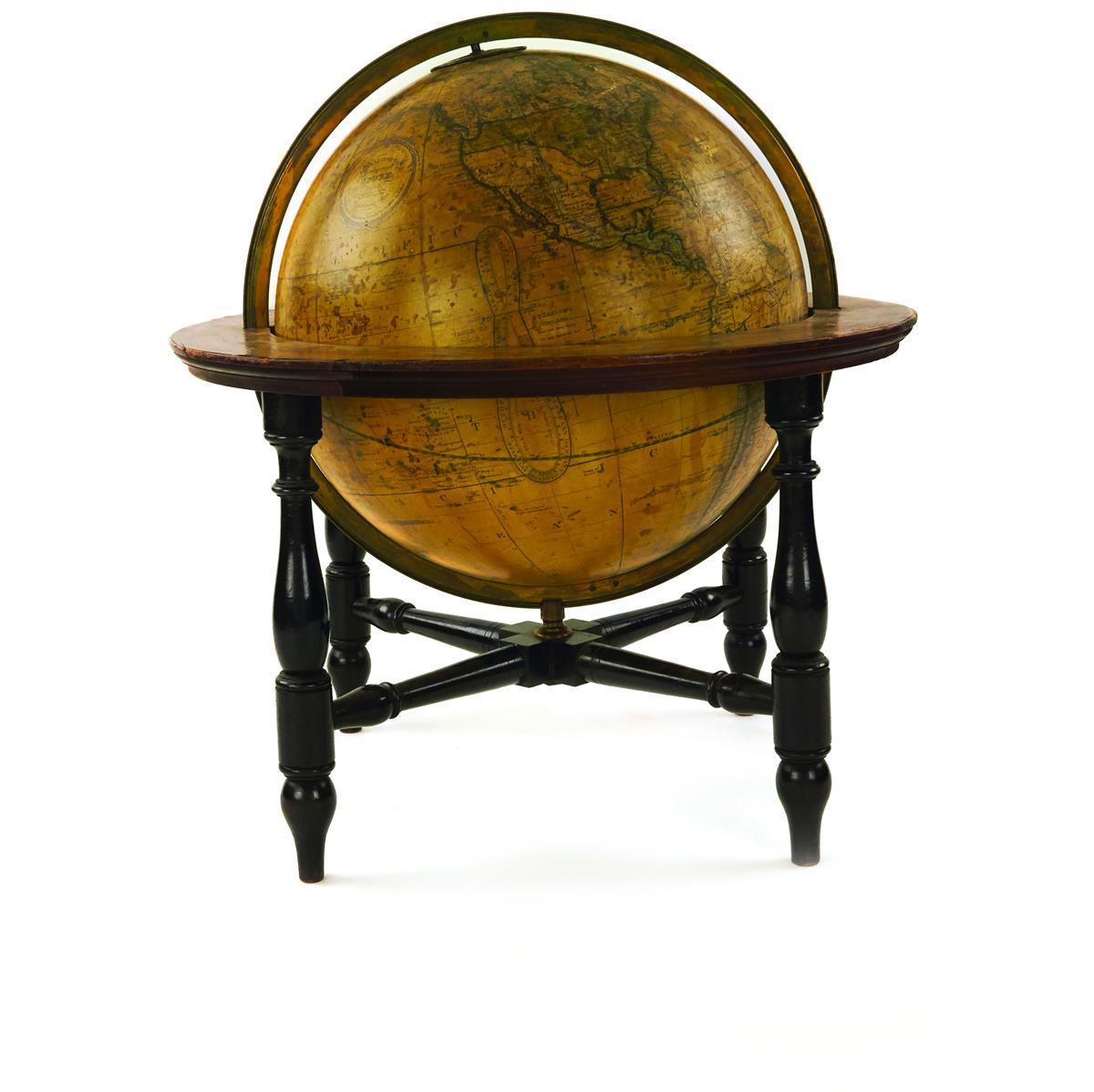 (GLOBES.) W. & A.K. Johnston, engraver. Donaldsons Terrestrial Globe.