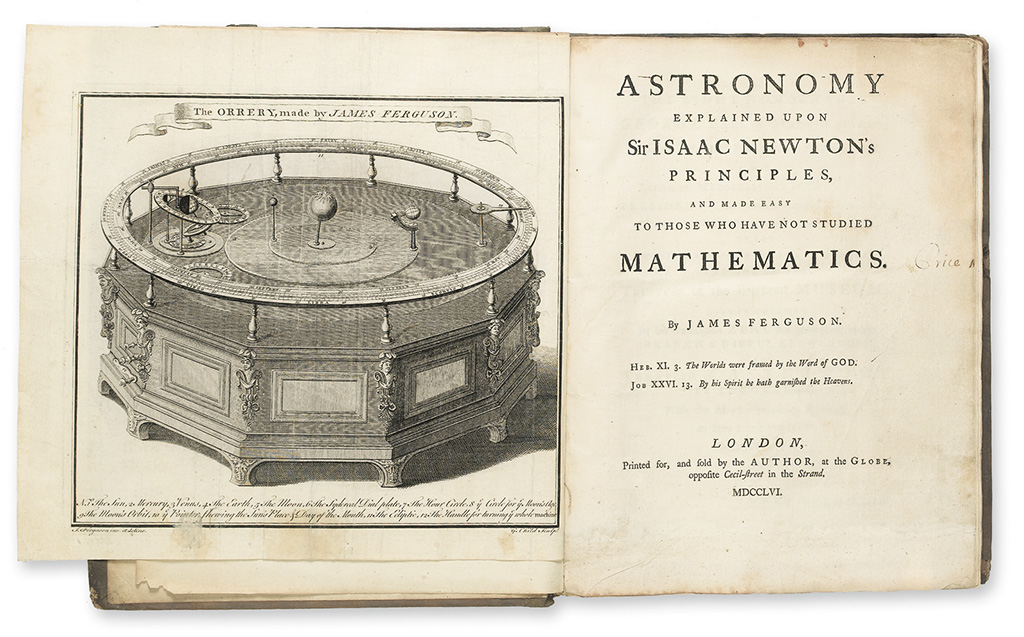 FERGUSON-JAMES-Astronomy-explained-upon-Sir-Isaac-Newtons-Pr