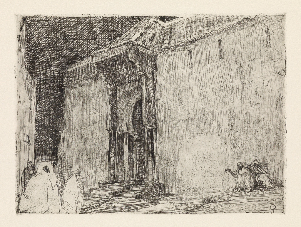 HENRY-OSSAWA-TANNER-(1859---1937)-Mosque-Tangier