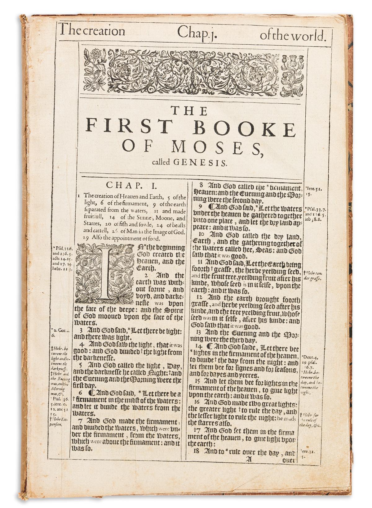 Bible, English, Authorized. Pentateuch, King James Royal She Bible.