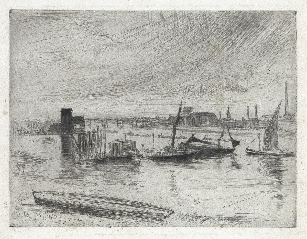 JAMES-A-M-WHISTLER-Battersea-Dawn-(Cadogan-Pier)