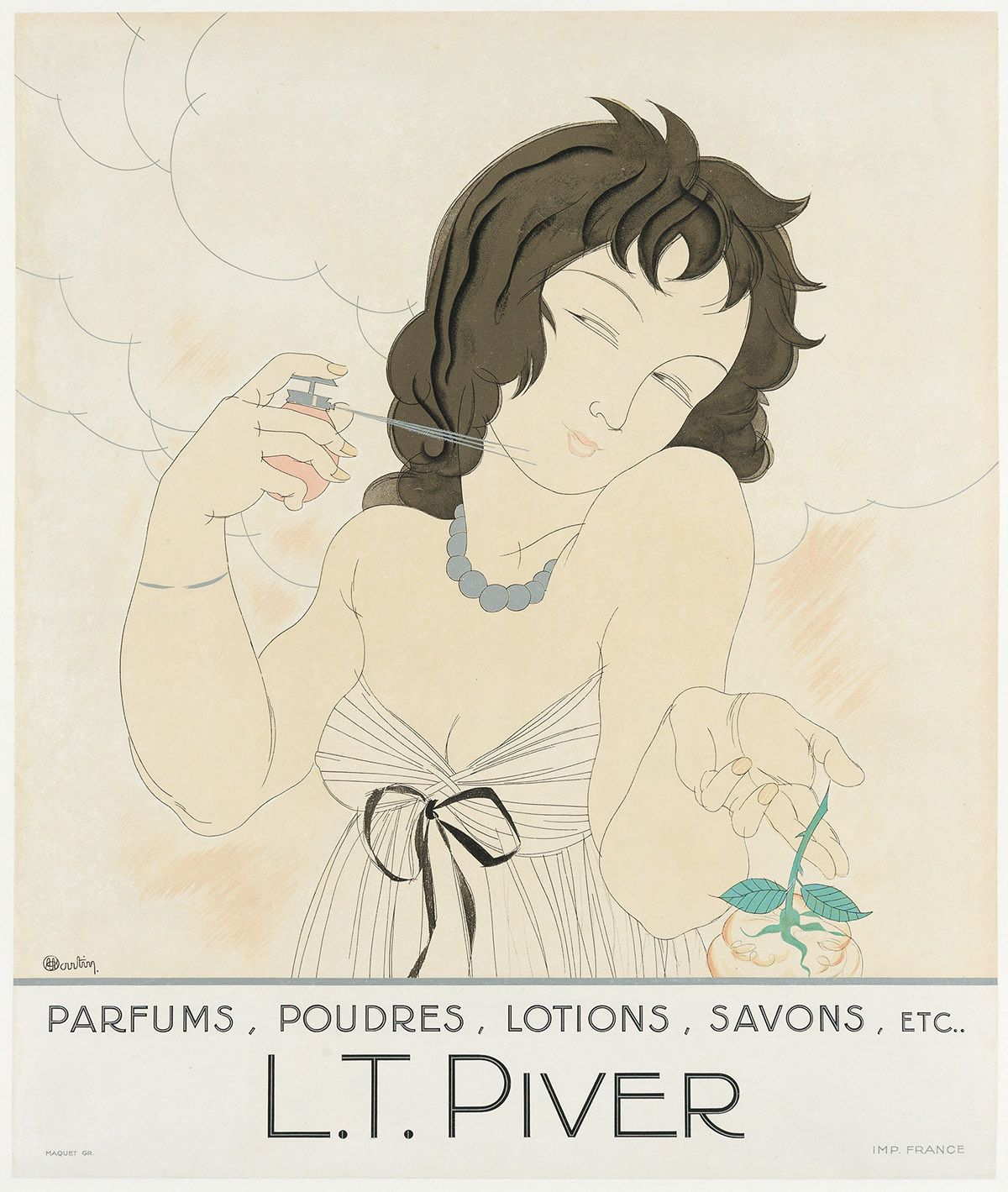 CHARLES-MARTIN-(DATES-UNKNOWN)-LT-PIVER-Circa-1920s-23x19-inches-59x49-cm-Maquet-France