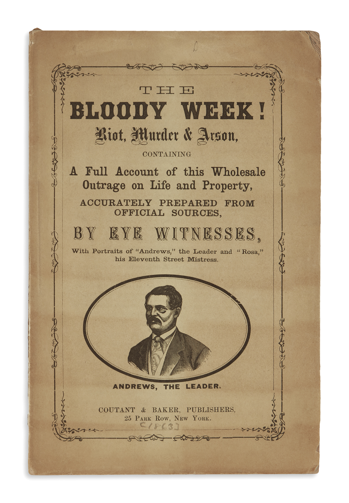 (BOOKS-AND-PAMPHLETS)-The-Bloody-Week-Riot-Murder--Arson-Con