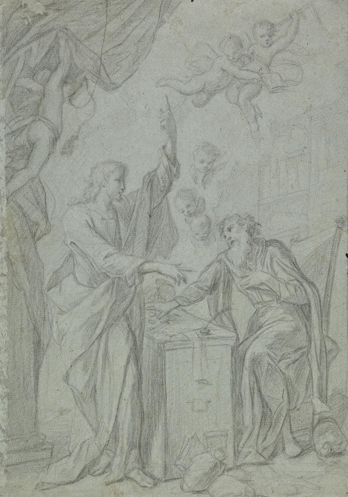 NEAPOLITAN-SCHOOL-17TH-CENTURY-The-Calling-of-St-Matthew