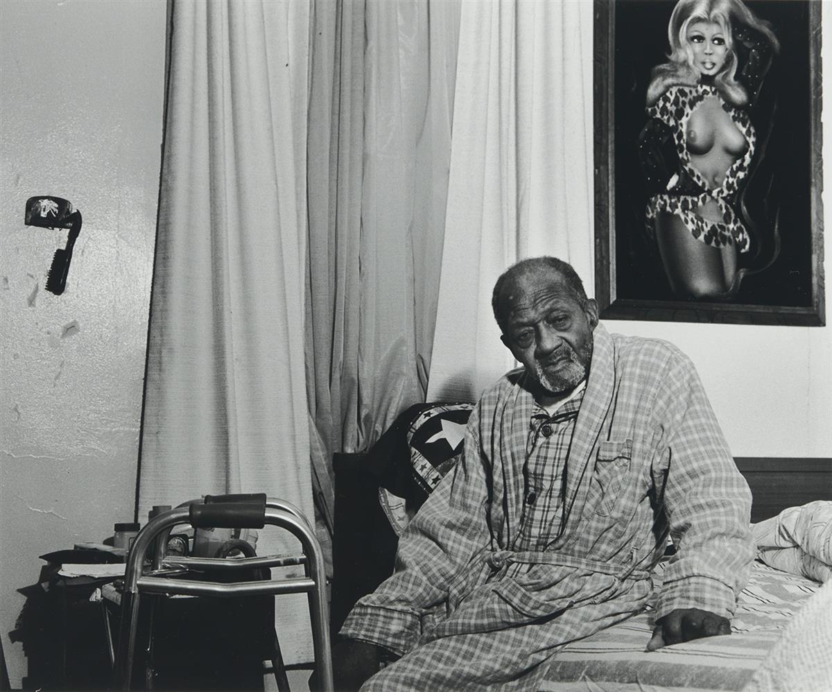 LATOYA RUBY FRAZIER (1982- ) Gramps on His Bed.