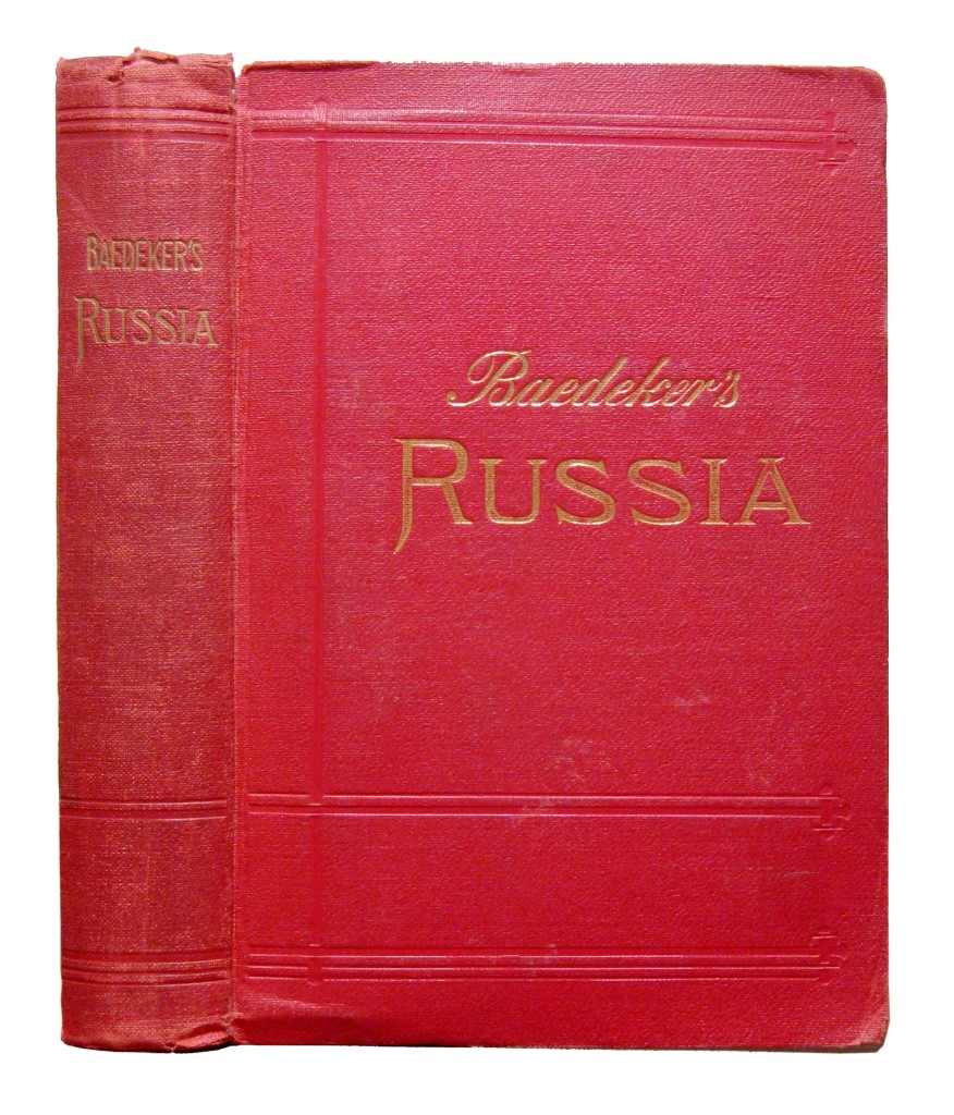 BAEDEKER-KARL-publisher-Russia-With-Teheran-Port-Arthur-and-