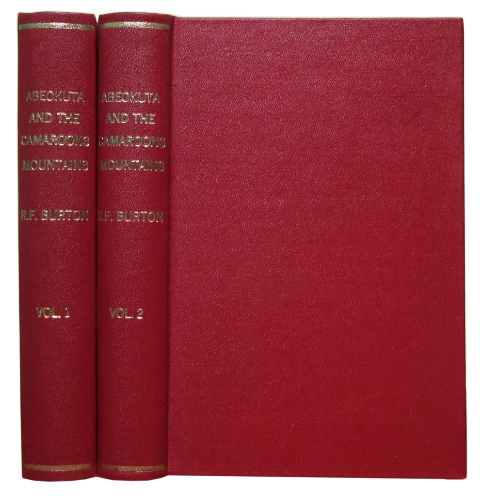 BURTON-RICHARD-FRANCIS-Sir-Abeokuta-and-the-Camaroons-Mounta