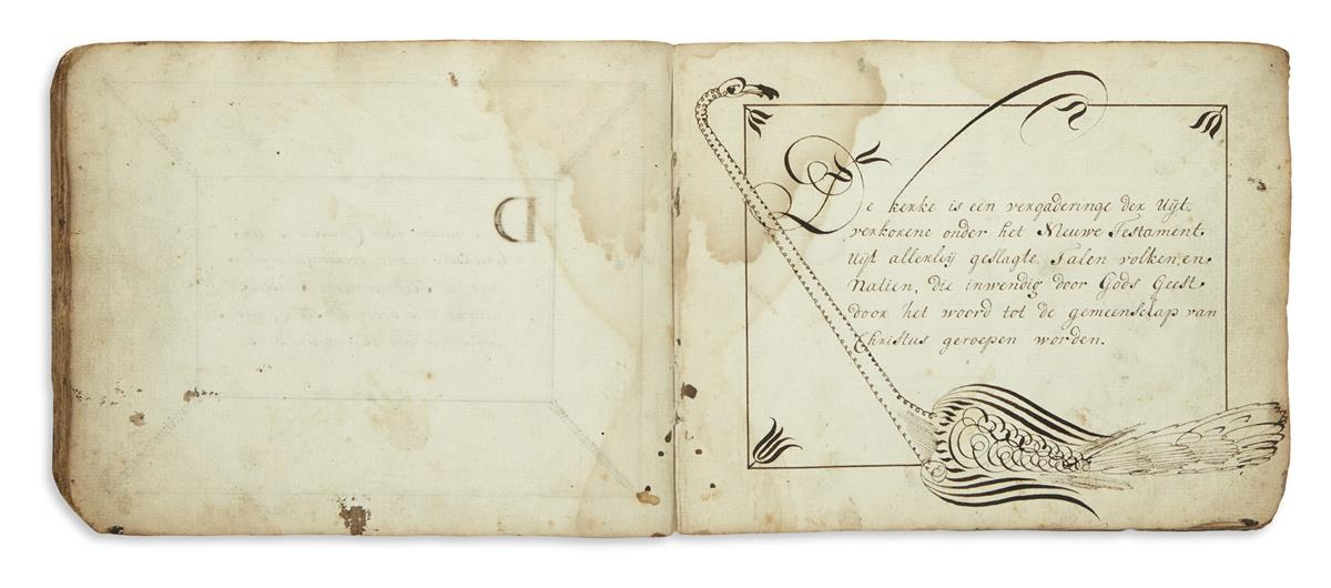 (COMMONPLACE-BOOK)-Ghysels-Cornelis-Illustrated-18th-century