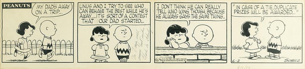 CHARLES M. SCHULZ. Peanuts.