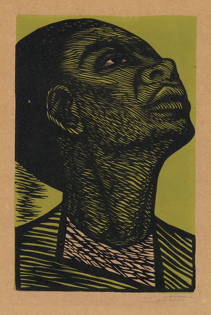 ELIZABETH CATLETT (1915 - 2012) My right is a future of equality with other Americans.