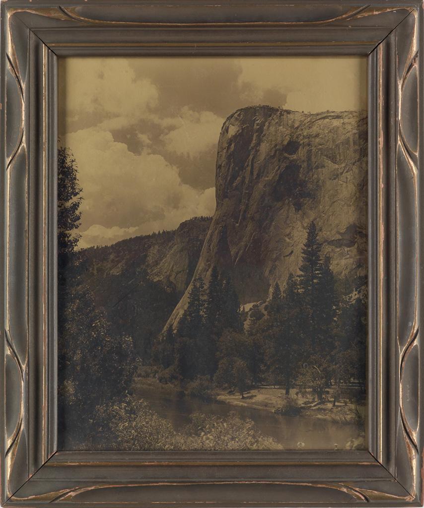 ARTHUR C. PILLSBURY (1870-1946) A pair of orotones from Yosemite.