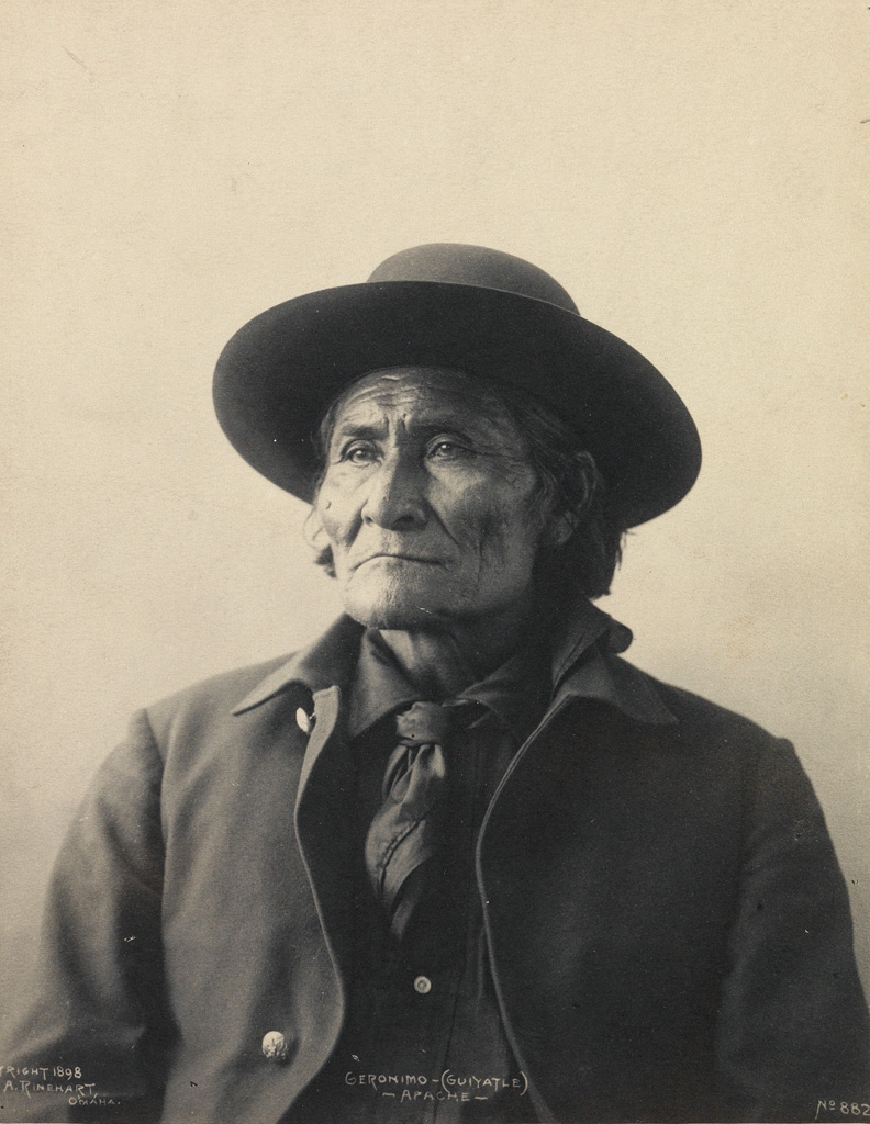 FRANK A. RINEHART (1861-1928) Geronimo (Guiyatle), Apache * Chief American Horse, Sioux * Chief Red Cloud.