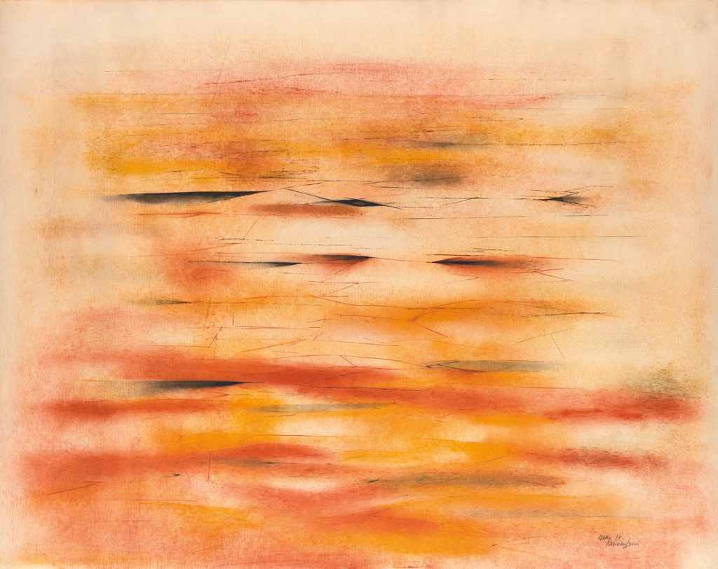 NORMAN-LEWIS-(1909---1979)-Sunset