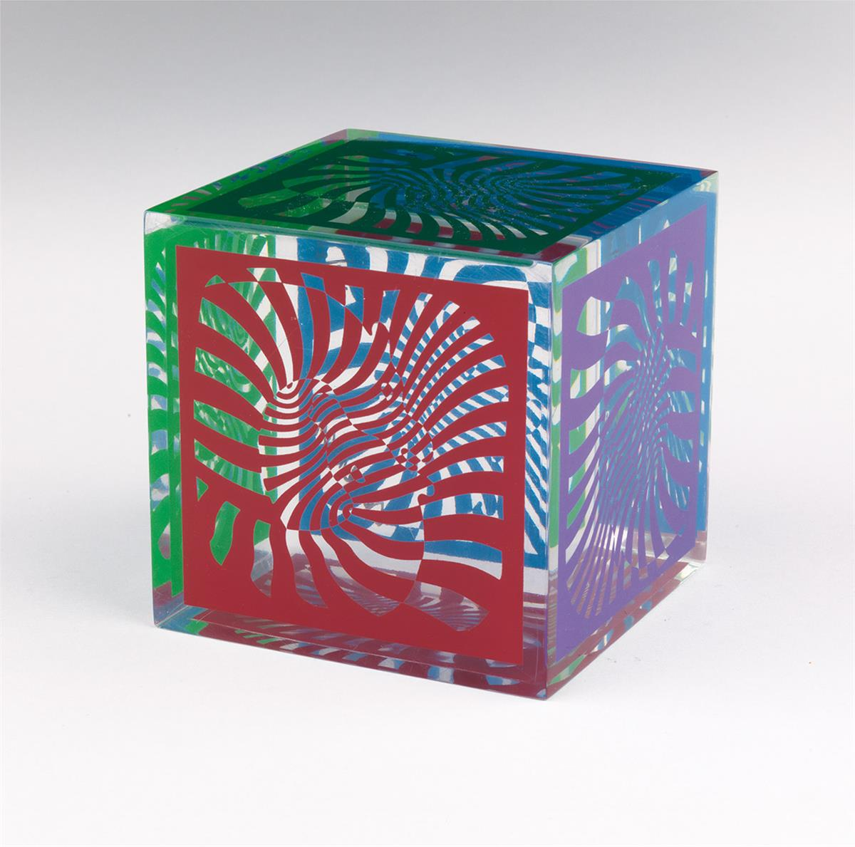 VICTOR-VASARELY-Cube