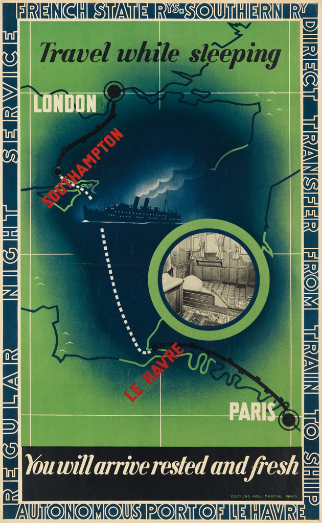 FRANCIS-BERNARD-(1900-1979)-TRAVEL-WHILE-SLEEPING--YOU-WILL-