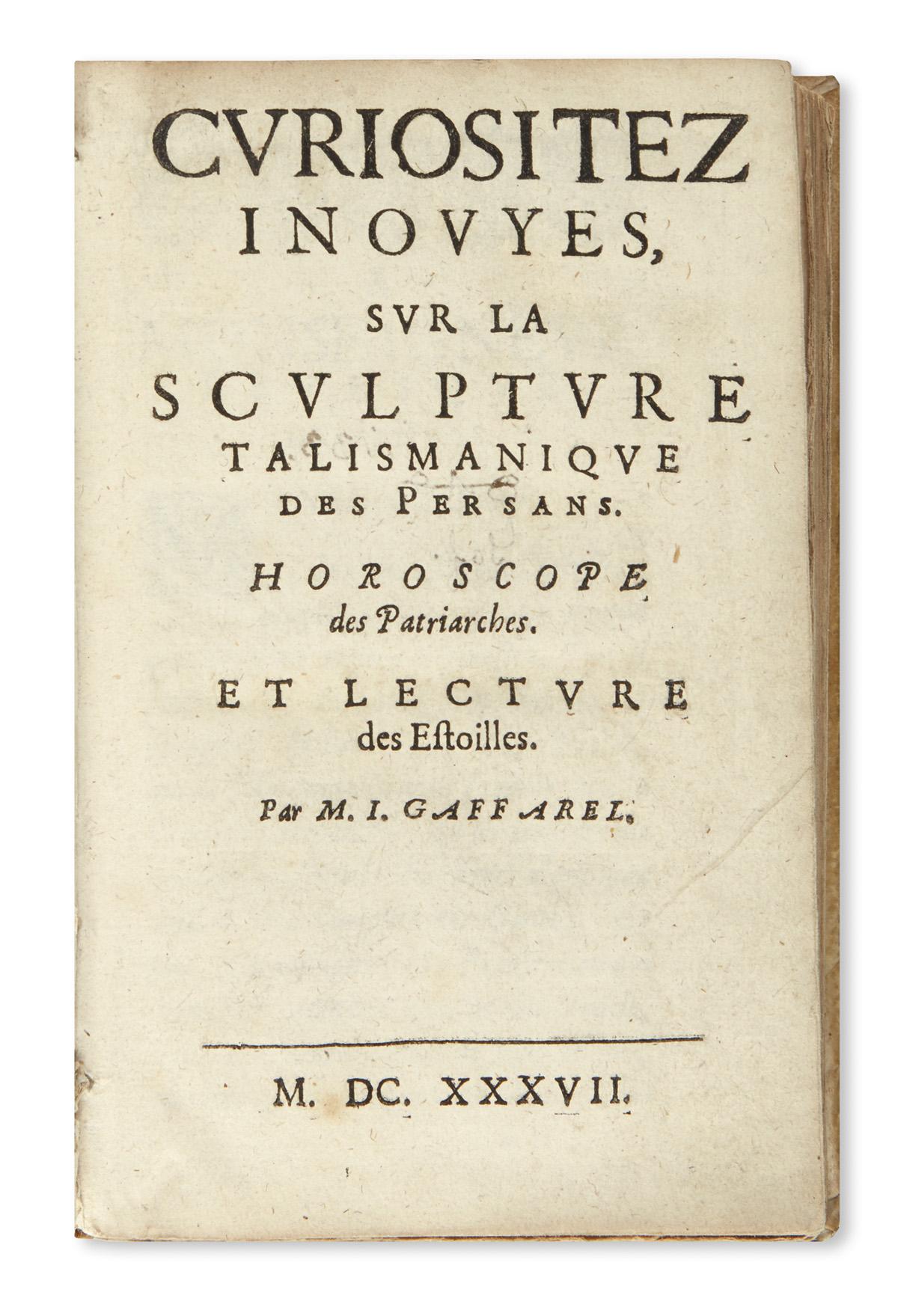 GAFFAREL-JACQUES-Curiositez-inouyes-sur-la-Sculpture-Talisma