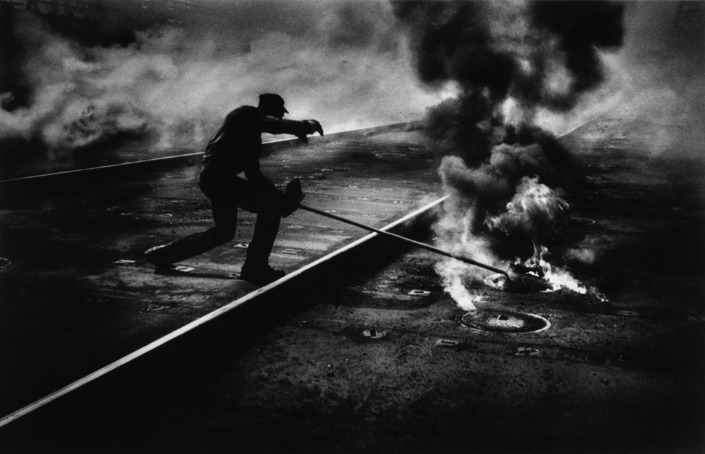 W. EUGENE SMITH (1918-1978) Pittsburgh: Dance of the Flaming Coke.