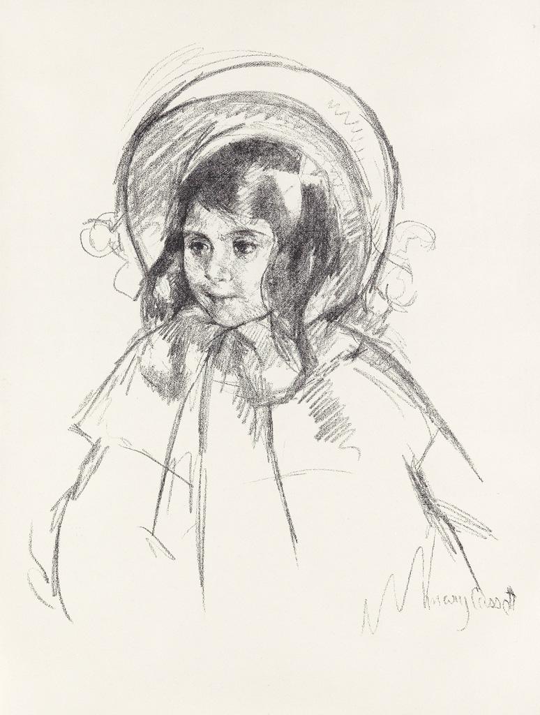 MARY-CASSATT-Sara-Wearing-her-Bonnet-and-Coat