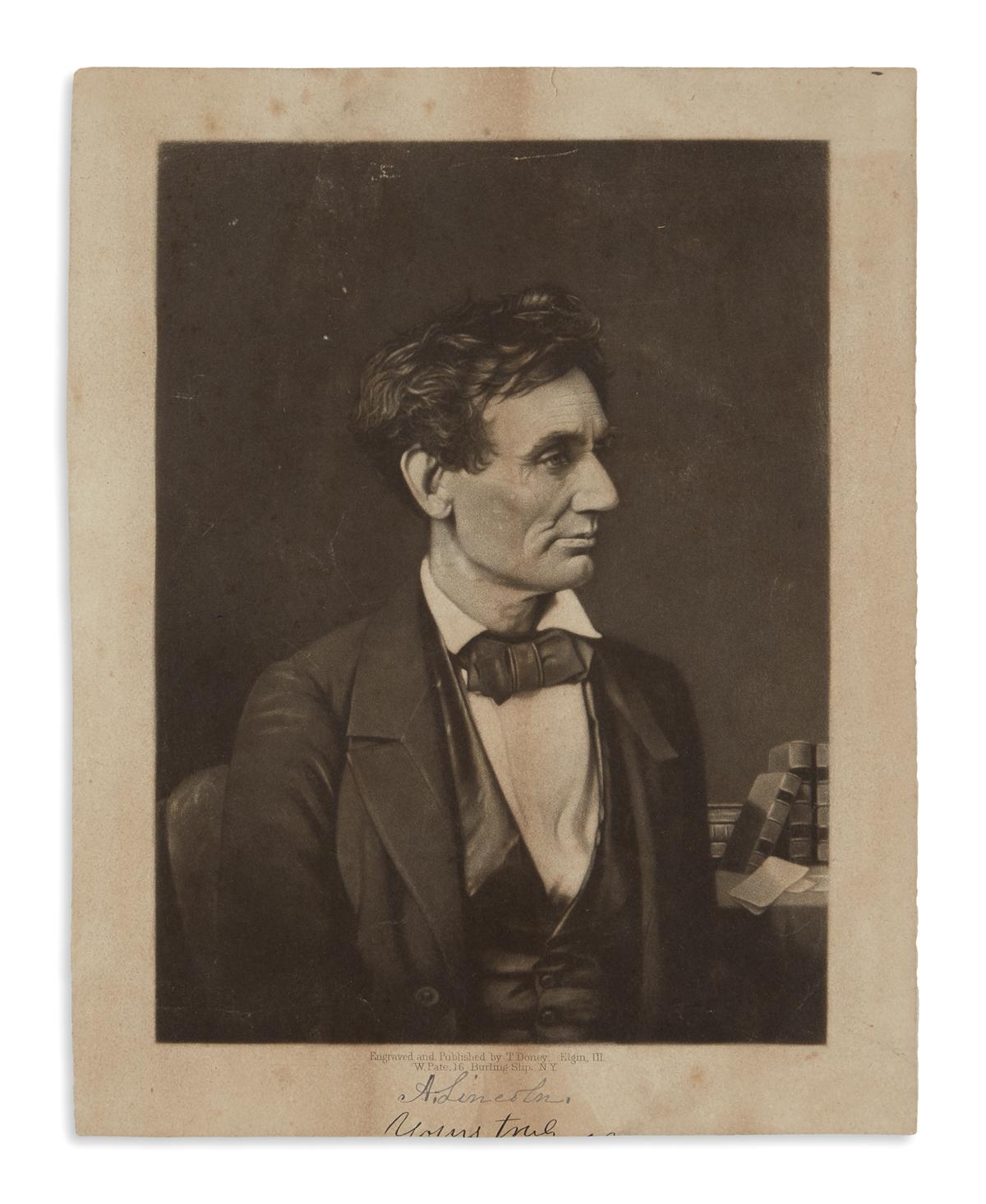 (PRINTS--1860-CAMPAIGN)-Doney-Thomas;-engraver-Untitled-port