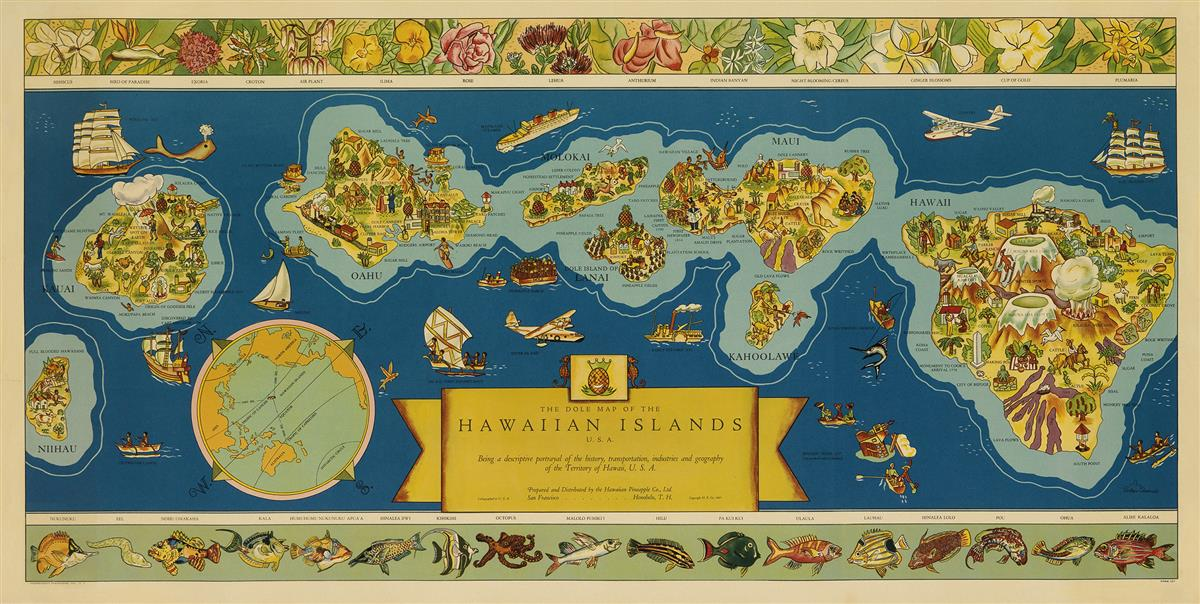 PARKER-EDWARDS-(DATES-UNKNOWN)-THE-DOLE-MAP-OF-THE-HAWAIIAN-