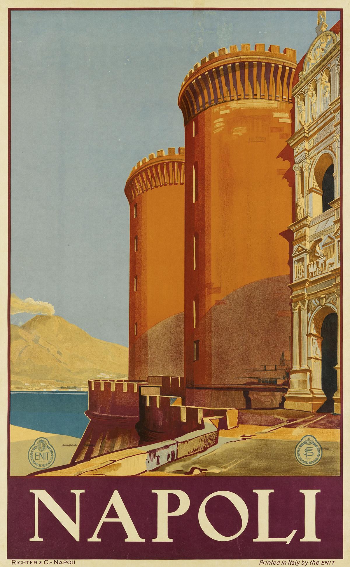 DESIGNER-UNKNOWN-NAPOLI-Circa-1930-39x24-inches-99x61-cm-Ric