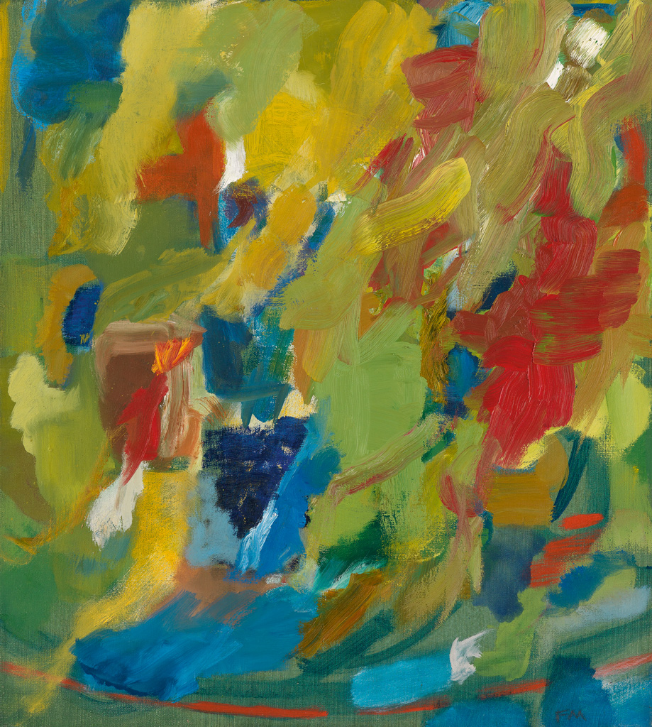FRED MITCHELL Untitled (Abstract Landscape).