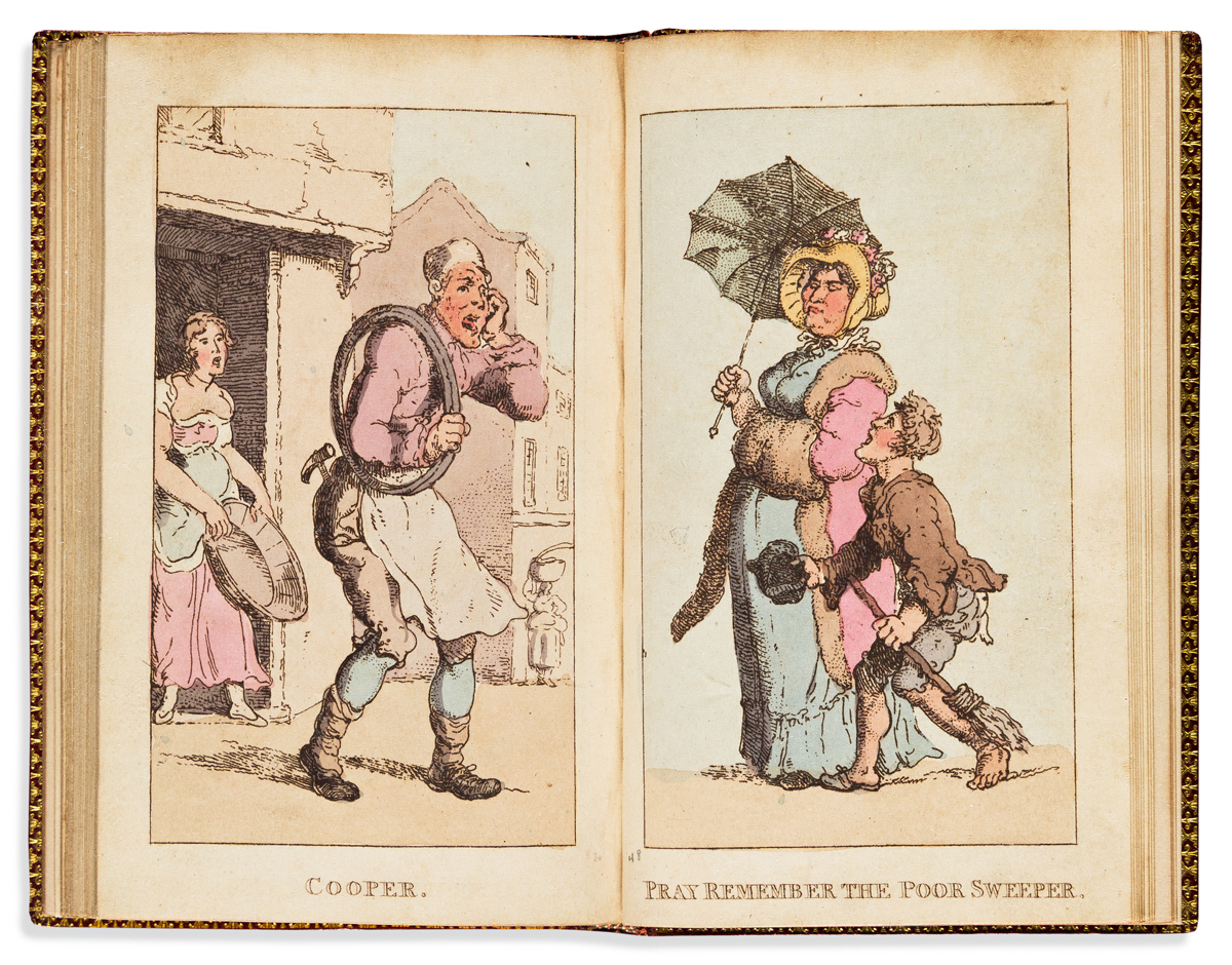 ROWLANDSON, THOMAS. Rowlandsons Characteristic Sketches of the Lower Orders,