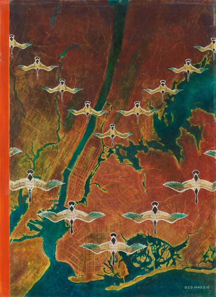 (THE NEW YORKER) REGINALD MASSIE. Birds Eye View.