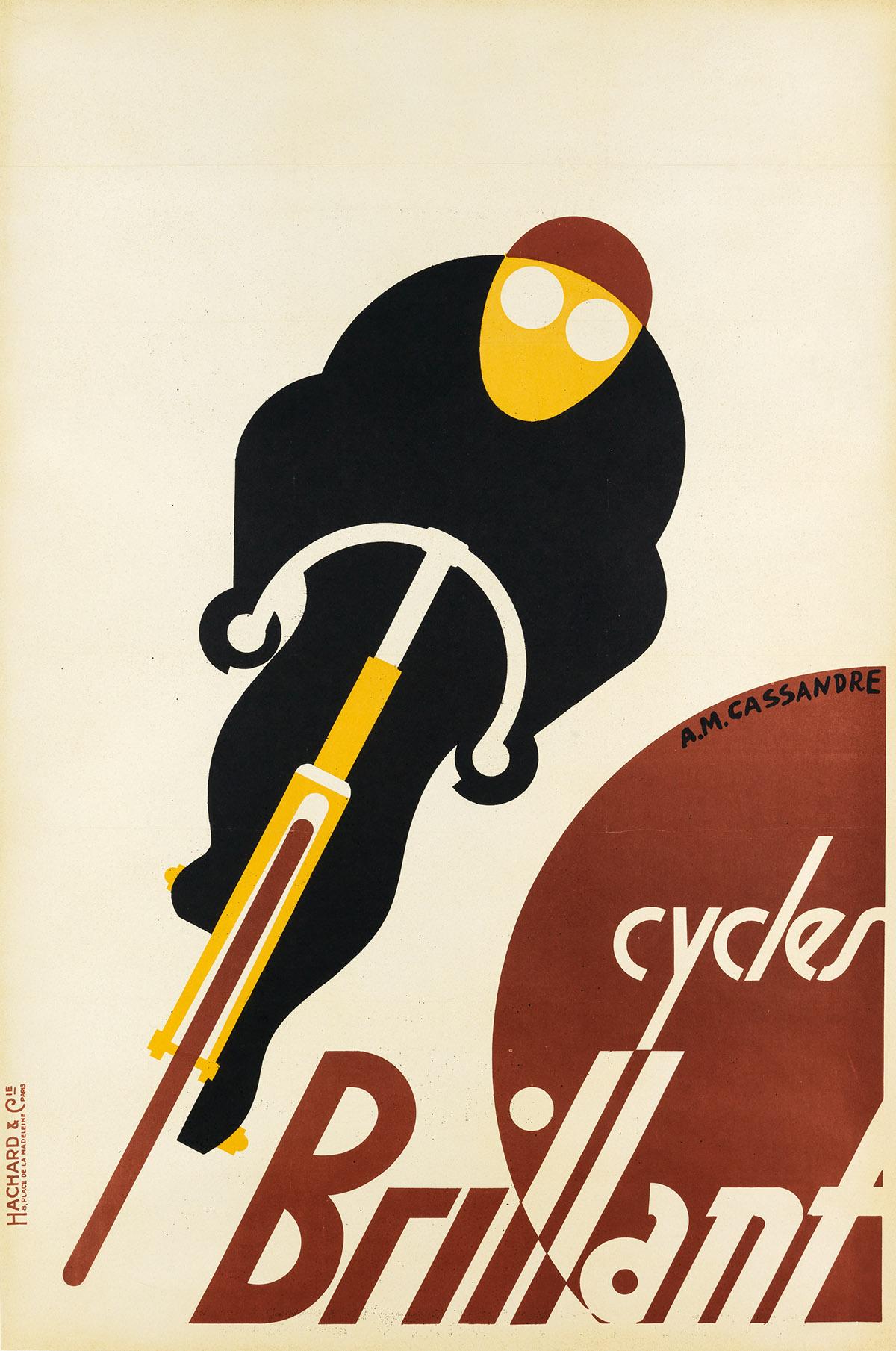 ADOLPHE-MOURON-CASSANDRE-(1901-1968)-CYCLES-BRILLANT-1925-46