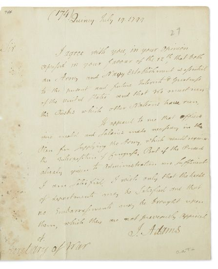 ADAMS-JOHN-Autograph-Letter-Signed-J-Adams-as-President-to-S